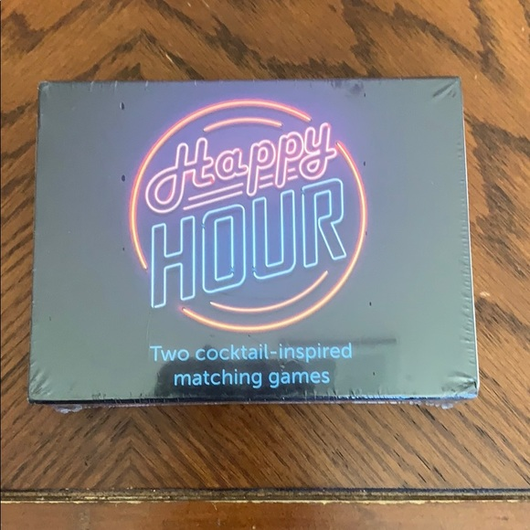 Happy Hour Two Cocktail-inspired Matching Game
